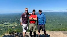 Hiked Yonah Mountain recently in North Georgia with Cardiac and Drone Boy. The Appalachian Trail is the ridgeline over our shoulders in the background.