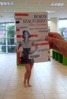 """#bookfacefriday lluïm cames amb """"Villa diamante"""" de @Borisizaguirre"""