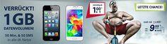 1GB o2 Smart Surf für 9,99€ mit Smartphone ab 1€ http://www.simdealz.de/o2/mobilcom-debitel-smart-surf-mit-smartphone-o2-netz/