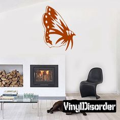 Butterfly Wall Decal - Vinyl Decal - Car Decal - CF132