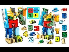 Transbots Transformers Robots Toys Battle calculation Videos for Children Cartoon Tv, Educational Toys, Transformers, Robot, Magic Number, Videos, Learning Toys, Robotics, Robots
