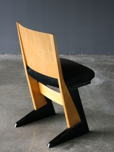 Alvar Aalto; Birch Side Chair, c1934.