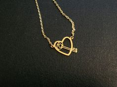 Key to My Heart Necklace by thedepo on Etsy,