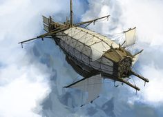 medival_styled_airship_by_psychepool-d4i0ou8.jpg 900×649 пикс