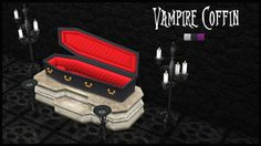 †SPEAK NO EVIL† Vampire Coffin TS2 to TS4 Conversion | Sims 4 Updates -♦- Sims Finds & Sims Must Haves -♦- Free Sims Downloads
