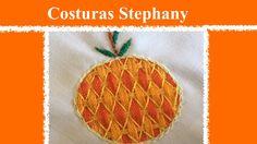 Bordado Fantasia Naranja #3