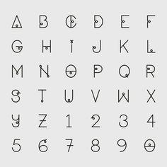 BIRDIE TYPEFACE  #birdie #typeface