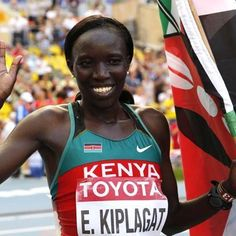 "18 Likes, 2 Comments - Kali Media (@kalimedia) on Instagram: ""Our #TBT goes to Kenyan runner Edna Kiplagat who DESTROYED the competition to win gold at the…"""