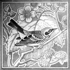 Birds 6 - Minton Hollins & Co - The Decorated Tile Wiki