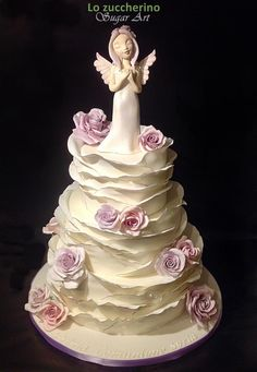 First Communion cake - Cake by Rossella Curti