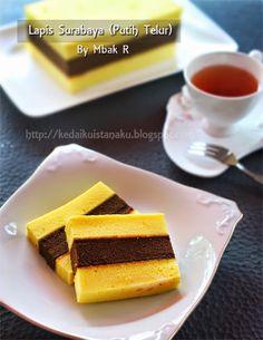 Indonesian Desserts, Asian Desserts, Indonesian Food, Indonesian Recipes, Pastry Recipes, Baking Recipes, Cake Recipes, Vanilla Recipes, Sweet Recipes