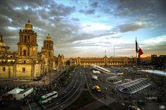 Zocalo Mexico City by Germán Moreno on 500px