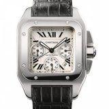 Cartier Santos 100 XL Chronograph Mens Watch W20090X8