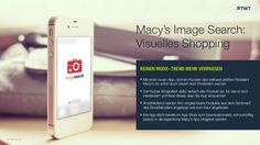 #Macy's Image Search: Visuelles #Shopping