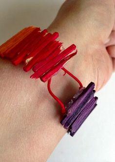 Armband av tändstickor av Linda på Form & Känsla Armband