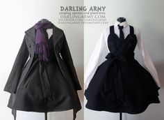BBC Sherlock Holmes Wool Suiting Pinafore by DarlingArmy.deviantart.com on @deviantART #Sherlock