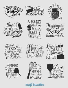 Kitchen Quotes SVG Files Craft marvelously with The Marvelous Ma. Kitchen Quotes S Wood Burning Crafts, Wood Burning Art, Kitchen Quotes, Kitchen Vinyl Sayings, Funny Kitchen Signs, Kitchen Decals, Cricut Explore Air, Cricut Creations, Vinyl Projects
