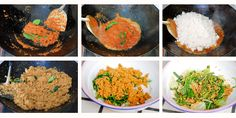 Urap Vegetable Salad with Coconut Step by Step