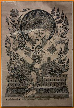 Thai Ganesha art