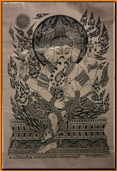 Thai Ganesha art