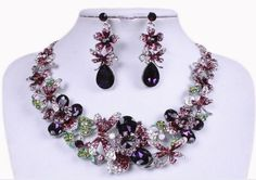 Gorgeous Bridal Jewelry Sets Butterfly Flower Necklace Earrings Sets Wedding Party Jewerly Sets European Style Jewelry For Bride Jewelry For The Bride From Janet521, $16.59| Dhgate.Com