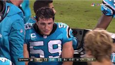 Luke Kuechly: Panthers Star Cries As He's Carted Off Field After Brutal Injury —Watch