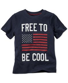 Carter's Toddler Boys' Free to Be Cool T-Shirt - Boys 2-7 - Kids & Baby…