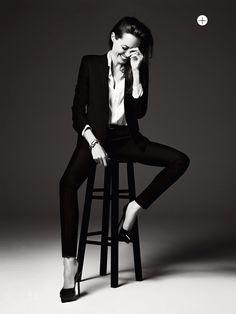 Untamed Heart: Angelina Jolie By Hedi Slimane For Us Elle June 2014