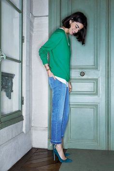 leandra medine of the manrepeller. via la cool & chic