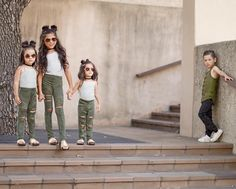 Just love this shot of these adorable kids  have a beautiful meaning.. squad goals!  By @txunamy • ❤Double tap this photo Use #kidsfashionistamodel at your photo for a possible feature Click link in bio for brand promo . . . . #love #photooftheday #cute #childrenphoto #goodlooking #bestoftheday #happy #fashion #sun #style #stylish #beautiful #instagood #pretty #swag #cool #rad #design #model #outfit #influencer #kidsfashion #ootd #txunamy #suribelle #solageortiz #diezelortix
