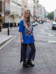 Les Modeuses Envahissent les Rues de Londres Pour la Fashion Week Jour 1