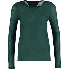Vero Moda VMANGY Sweter botanical garden zalando zielony bez wzorów/nadruków