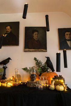 diy-deco-halloween-20 Diy Deco Halloween, Decoration, Painting, Art, Diy Room Decor, Drawers, Decor, Art Background, Painting Art