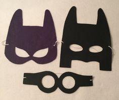 Lego Batman movie masks for children party favor by NanandGeFavors