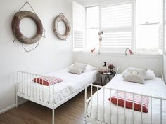 perfect beach guest room - desiretoinspire.net - Blue Belle at Bondi