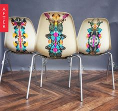 Before & After: Herman Miller Chairs Get Somewhat Psychedelic