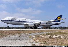 Boeing 747-830 aircraft picture  The Retro Lufthansa livery looks amazing!