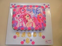 Image detail for -my little pony cake