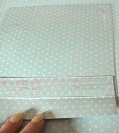 Clear Scraps Blog: Clear Scraps Acrylic Valentine's Box Tutorial by Pinky! Acrylic Sheets, Acrylic Box, Valentine Day Boxes, Valentines, Clear Gift Boxes, Bone Folder, Photo Tutorial, Washi Tape, Scrap