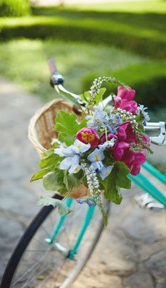 Make a floral basket for your bike. Spring Movie, Spring Starts, Visa Gift Card, Hallmark Channel, Garden Gate, Happy Spring, Spring Fever, Winter Springs, Bake Sale