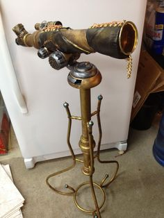 This is so fun! I have an old telescope that may get a similar treatment. Steampunk Telescope by ~JessicaSilverflame on deviantART