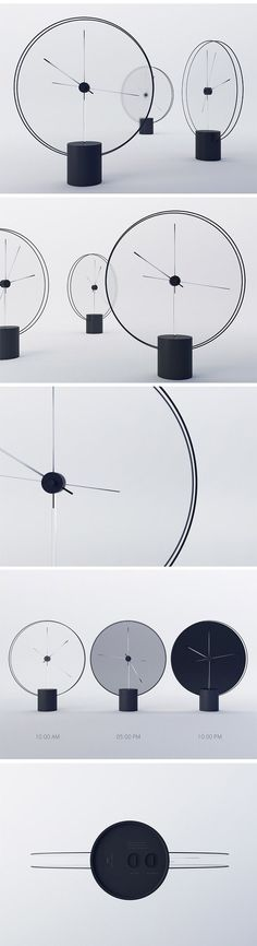 Whether you're aware of it or not, you are constantly aware of the time in large part due to the position of the sun and the brightness outside, not just because you can look down at your phone or watch! This minimalistic clock takes inspiration from this concept and reinforces hour and minute hand time-telling with a shade changing face. As it grows darker outside, so does the saturation of the clock face.