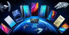 Let the war begin! - - - #xiaomi #elephone #doogee #umi #umidigi #ulefone #maze #bluboo #allview #smartphone #borderless #display #clone #tech #techy #androidonly #android #starwars #space #universe #geek #nerd #smartphones