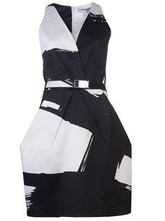Kaufmanfranco Brush Stroke Dress