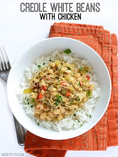 Creole White Beans with Chicken - Budget Bytes