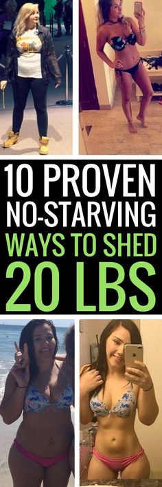 10 proven healthy ways to lose weight without starving.
