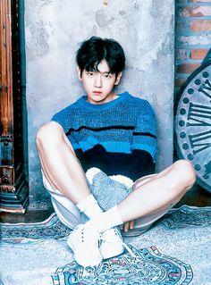 Baekhyun - EXO, September Issue of Cosmopolitan China Chanyeol Baekhyun, Park Chanyeol, Kpop Exo, Exo K, 2ne1, Laura Lee, Baekhyun Photoshoot, Got7, Softies