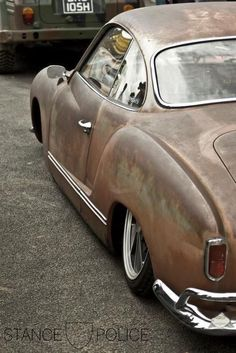 Hey, that was the color of my ghia- rusted brown......
