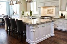 New Craftsman Home Photo Shoot - Cedar Hill Farmhouse Love the granite