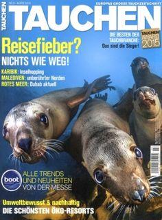 """Die Zeitschrift """"Tauchen"""" ist momentan mit einem 70,00€ Amazon-Gutschein erhältlich. Das Magazin kostet derzeit jährlich 74,40€, sodass man effektiv auf lediglich 4,40€€ kommt – 5,00€€ günstiger als bei der letzten Aktion."""